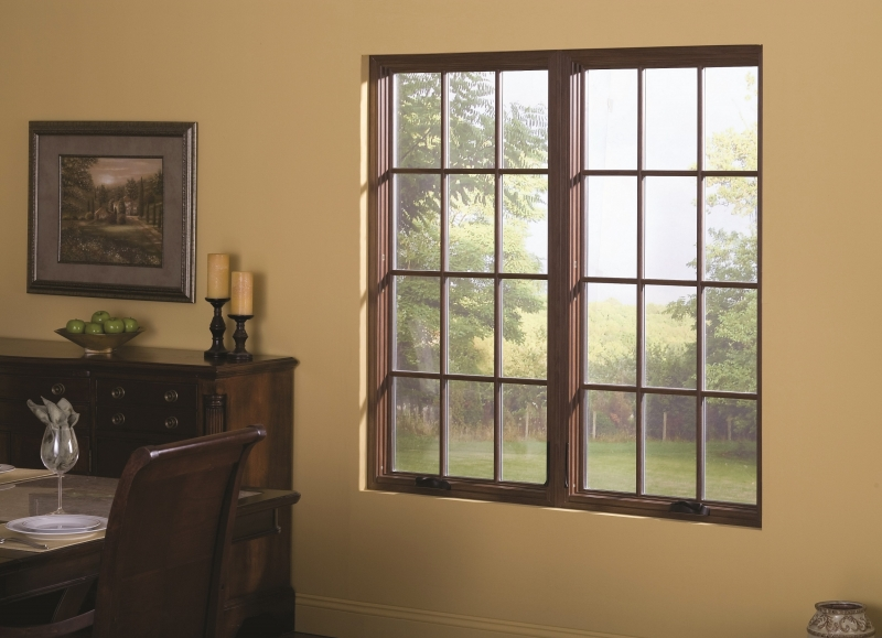 Double Awning Windows : Casement awning windows installed in macomb county