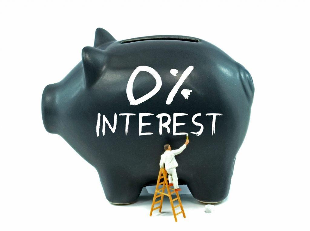 0 interest