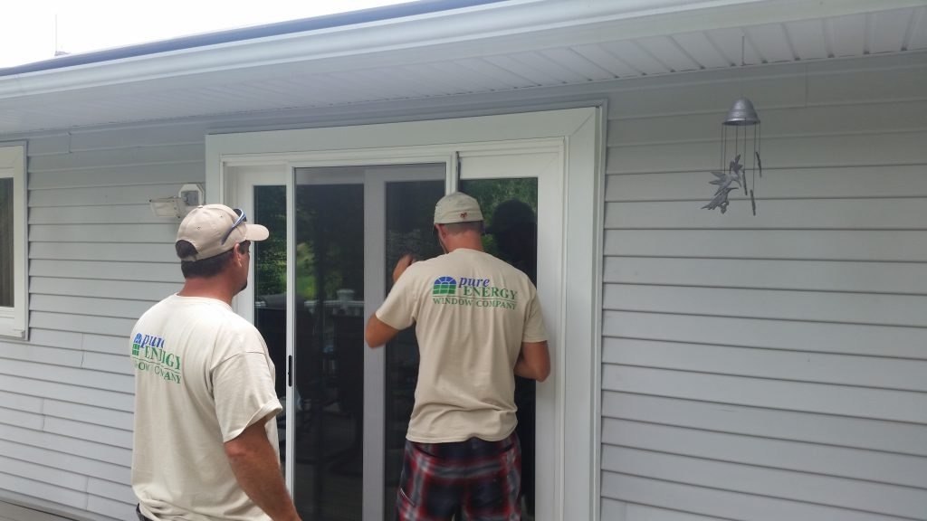 Installing new green windows for energy efficiency
