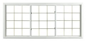 low carbon footprint insulated window