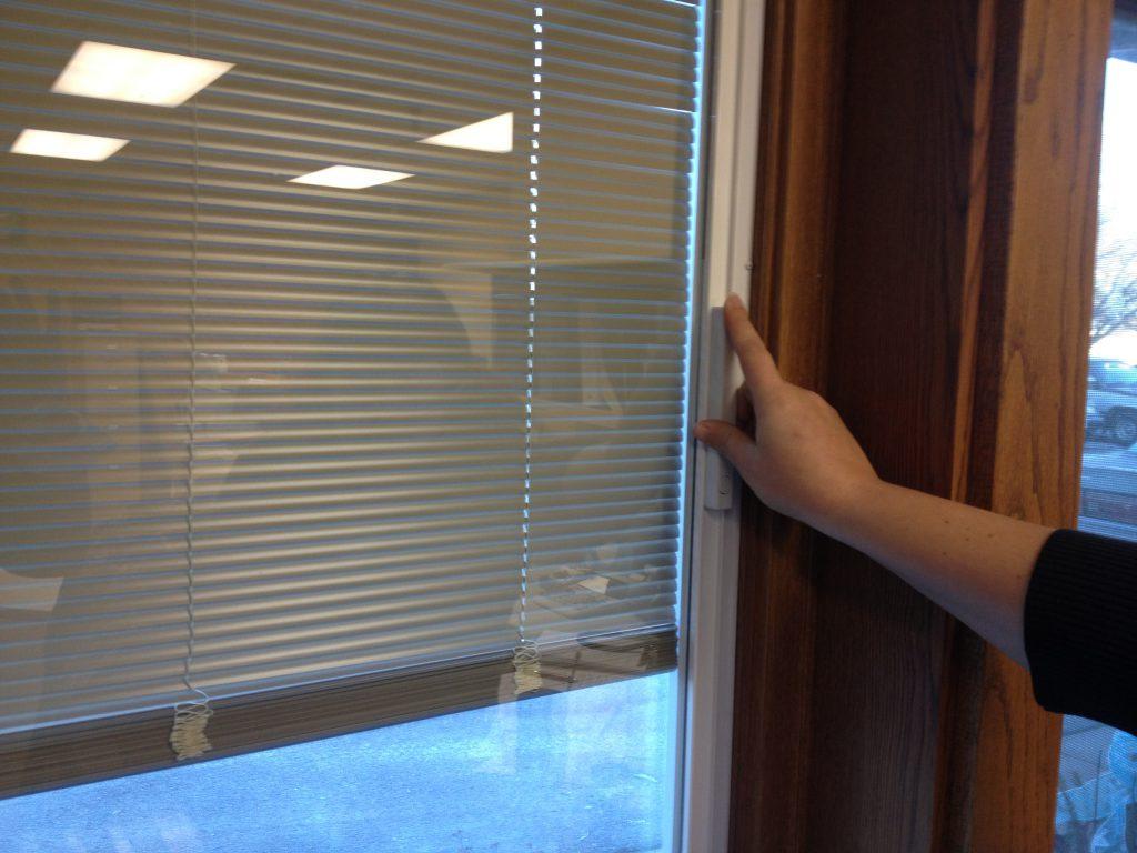 blinds in window