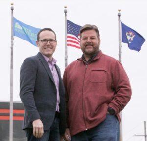 Adrian Beaver & Matt Masters Owners of Pure Energy Window